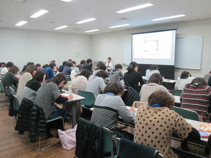 道山ケイ大阪勉強会の様子