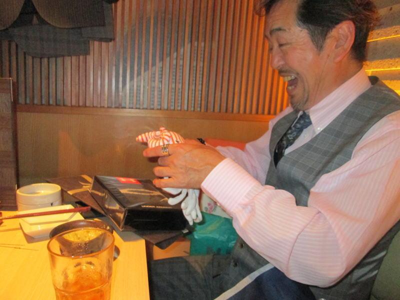 伊藤幸弘先生の誕生日会