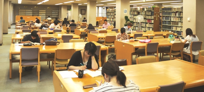 図書館勉強