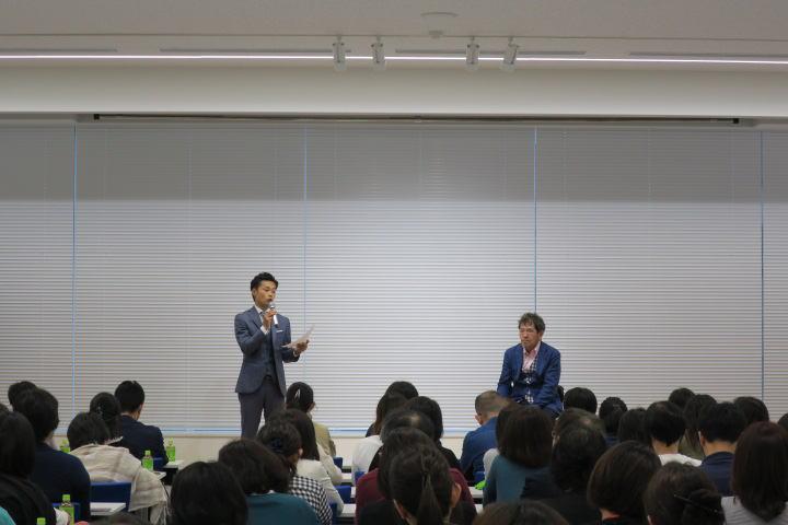 道山ケイと伊藤幸弘の講演会