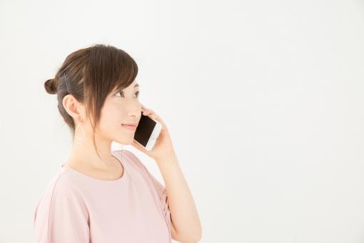 電話をする