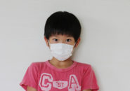 マスクの子供